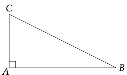 triangle rectangle et théorème de pythagore